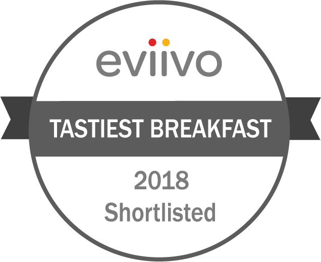 eviivo awards Tastiest Breakfast 2018 shortlist