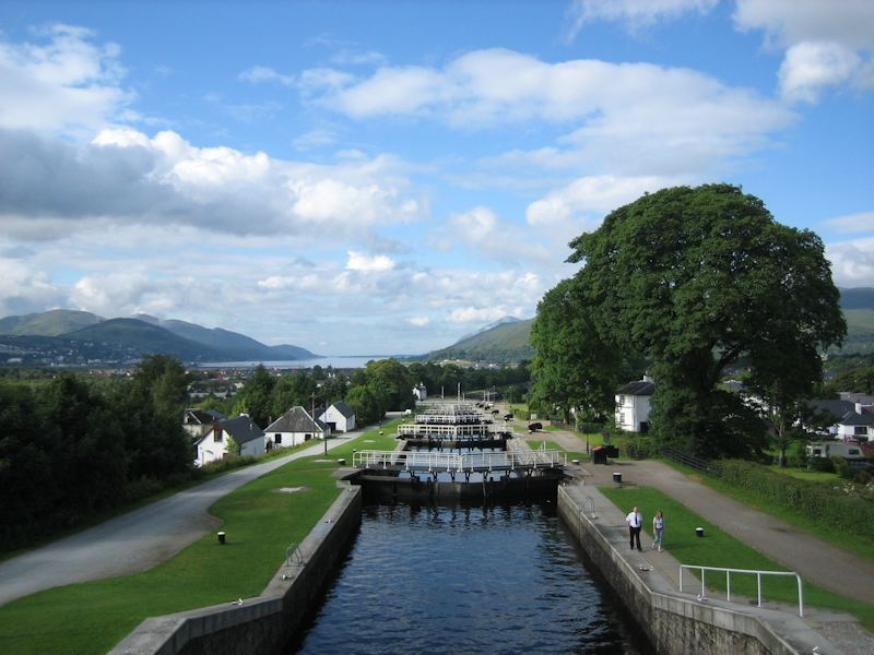 Corpach Canal and Ben Nevis