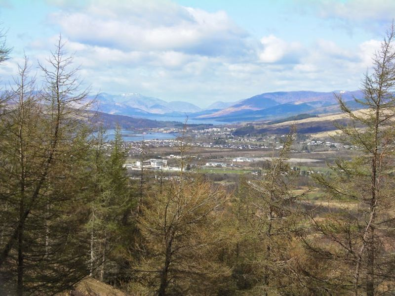 Corpach, Loch Eil and Fort William